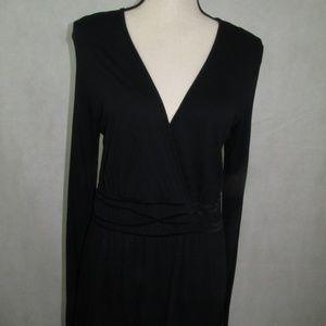 Bandolino Casual Long Sleeve Top Size M V Neck